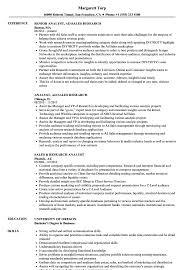 Sales Analyst Resume Sales Research Analyst Resume Samples Velvet Jobs