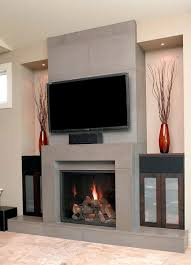 fireplace surround ideas with tv