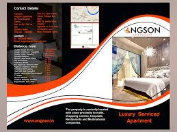 Apartment Brochure Design New Design Inspiration