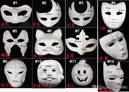 Decorative Face Masks Best DIY Mask Hand Painted Halloween White Face Mask Zorro Crown 74