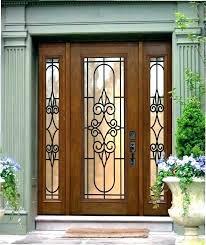 front doors with glass panels replacement door glass panels front door laminated glass panels