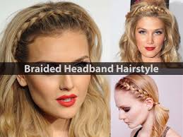 Headband Hair Style braided headband hairstyles how to style video tutorial 7201 by wearticles.com