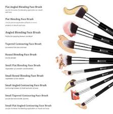bestope premium cosmetics 8 piece makeup brush set only 8 99 reg 23 99