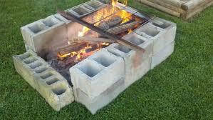 cinder block fire pit diy fire pit ideas for your backyard diy 13 19