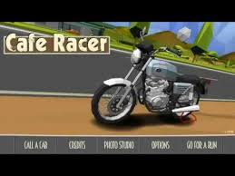 main game cafe racer wheelie part1 youtube