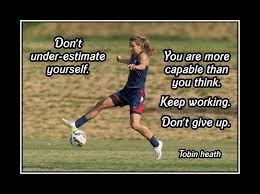 Inspirational Soccer Quotes 38 Best 24 Best Soccer Motivation Images On Pinterest Christian Pulisic