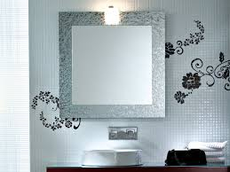 Brilliant Bathroom Vanity Mirrors Decoration Square Bathroom