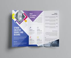tri fold maker printable tri fold brochure maker fresh marketing brochure templates