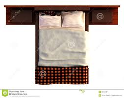 bed top view png. Interesting Bed Bed Top View On White Png