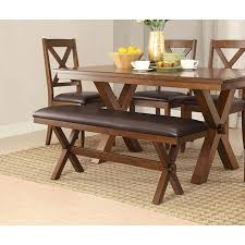 better homes and gardens dining table. Adjustable Better Homes And Comfortable Gardens Maddox Crossing Dining Perfect Bench, Espresso Discount Low Wooden Legs Furniture Space Design Affordable Table