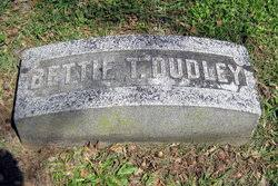 Bettie T. Thompson Dudley - Find A Grave Memorial