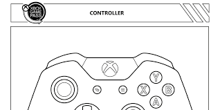 Fresh xbox 360 controller coloring pages pleasant to my own weblog within this time i m going to collection a to d. Get Your Art On With These Xbox Colouring Pages Mspoweruser