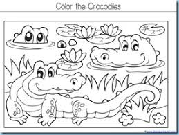 Small Picture The Selfish Crocodile Kindergarten Literature Unit Printables