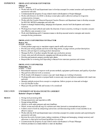 Copywriter Resume Emejing Ad Copywriter Cover Letter Gallery Triamtereneus 78