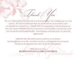 Wedding Shower Thank You Note Wording Examples Fresh Card Creative ...