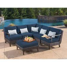 melrose 6 piece sectional patio