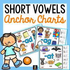 Short Vowels Anchor Charts