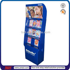 Cardboard Book Display Stands Tsdc100 Custom Cardboard Single Book Display Standcounter 72