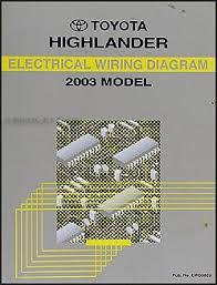 2003 toyota highlander wiring diagram 2003 image 2003 toyota highlander wiring diagram manual original on 2003 toyota highlander wiring diagram