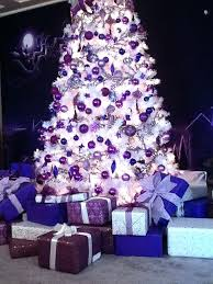purple and white christmas tree top purple trees decorations tree celebrity  and holidays purple and white