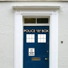 vinyl stickers for doors fashion cool police box door decal vinyl sticker who doctor style for