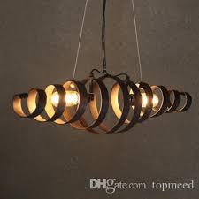 spiral spring industrial hanging lamp