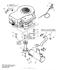 simplicity 1690458 4211 11hp 5 speed parts diagram for engine group zoom