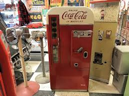 Retro Coca Cola Vending Machine Mesmerizing Older Restored 48 Vendo 48 D Coca Cola Vending Machine The Old