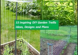 Small Picture 15 Inspiring DIY Garden Trellis Ideas For Growing Climbing Plants