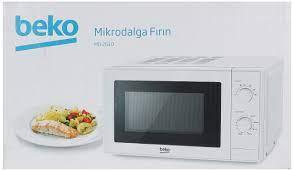 Beko Md 2610 Mikrodalga Fırın, Metal, 45 Cm, Beyaz: Amazon.com.tr
