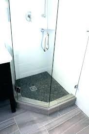 sterling shower base sterling angle shower base new tile ready solid surface design pan sterling neo