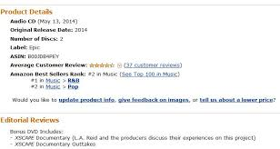 Pop Chart Reviews Xscape 1 In R B At Amazon 2 In Pop Mjeol