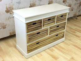 Storage Living Room Cabinet White Chest 5 Drawer Living Room Hallway Storage Unit