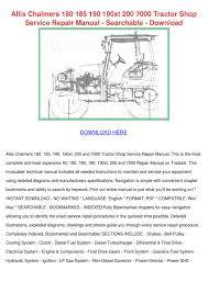 allis chalmers 200 wiring diagram allis wiring diagrams