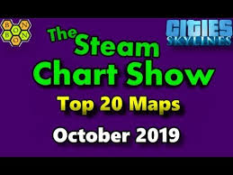 Raft Steam Charts Cities Skylines Top 20 Maps Steam Chart Show For Maps October 2019 M017
