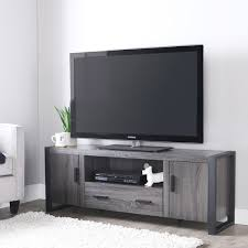 grey tv stand. Delighful Stand 60 Inch Charcoal Grey TV Stand On Tv B