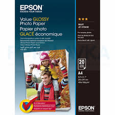 400035 <b>Фотобумага EPSON Value Glossy</b> Photo Paper A4 (20 ...