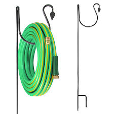 2 brinkman shepherds hooks for garden hose yard hangers lawn plants chimes feeder com