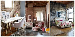 shining brick wall decor exposed decorating ideas designs these walls are great on their own but it never hurts to add a little flare decoration decorative