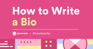 Recipe Writer App How To Write A Bio Quick Tips And Bio Examples Grammarly