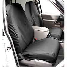 covercraft front seat cover seatsaver polycotton for 40 20 40 bench seat with fold