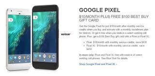 Deal Alert] Best Buy offering Pixel phones for $10 15 per month
