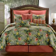delectably yours com pollys island tropical bedding comforter or duvet bed set by victor