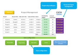 Project And Task Management Excel Template Includes Gantt Chart
