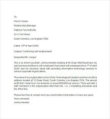 Best Solutions of How To Write A Self Employment Verification Letter With Letter Template