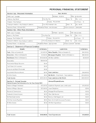 Income And Expense Template An Income Statement Of And Expenditure Template Personal Starwalker Me