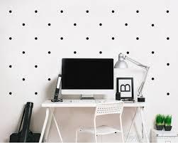 polka dots wall decal
