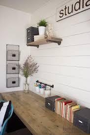 diy desk ideas. Brilliant Ideas Simple Desk With Ample Wall Storage Throughout Diy Ideas U
