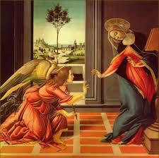 the cestello annunciation sandro botticelli 1489