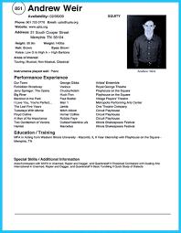 Microsoft Word 2010 Resume Template Download Resume Template On Microsoft Word Acting Samples Free Download 22